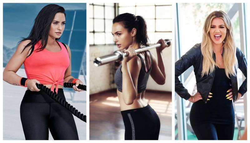 Hollywood's top female celebs who lift weights to stay fit