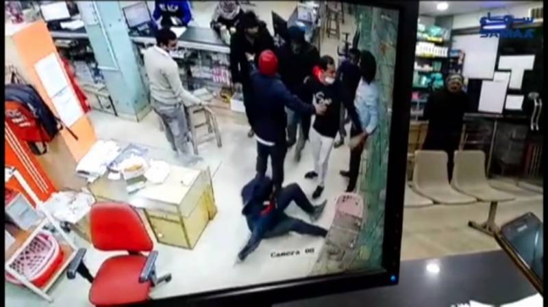Pharmacy employee beaten up for leaking customer's phone number