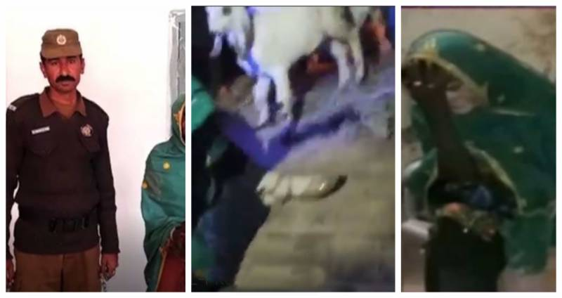 Goat-stealing 'Churail' captured in South Punjab