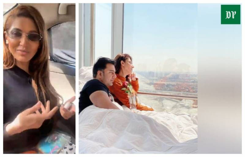 Sana Fakhar responds to social media backlash after bold pics with hubby go viral (VIDEO)