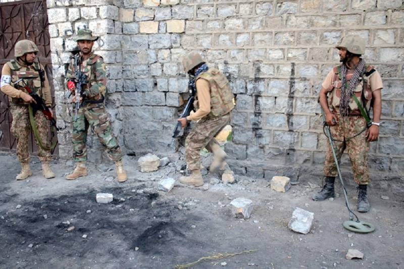 Five terrorists killed by security forces in N Waziristan operation: ISPR
