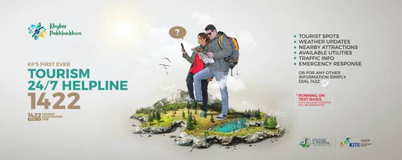 Khyber Pakhtunkhwa launches first ever helpline for tourists