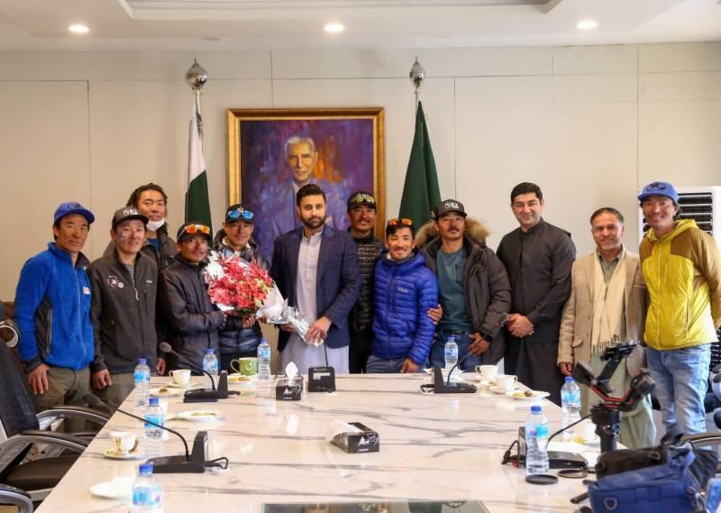 'Thank you Pakistan' – Nepalese mountaineers tell the world about 'so nice people' after making #K2Winter2021 history