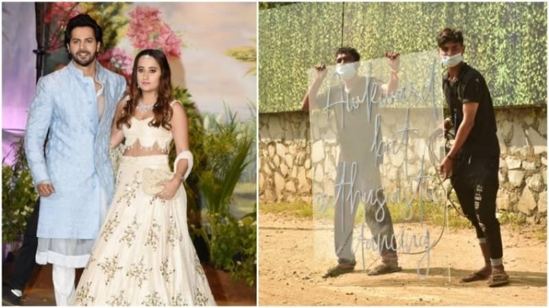 Varun Dhawan and Natasha Dalal tie the knot today