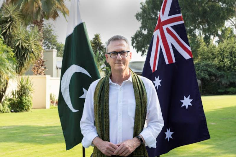Top envoy confident about further strengthening ties with Pakistan on Australia Day