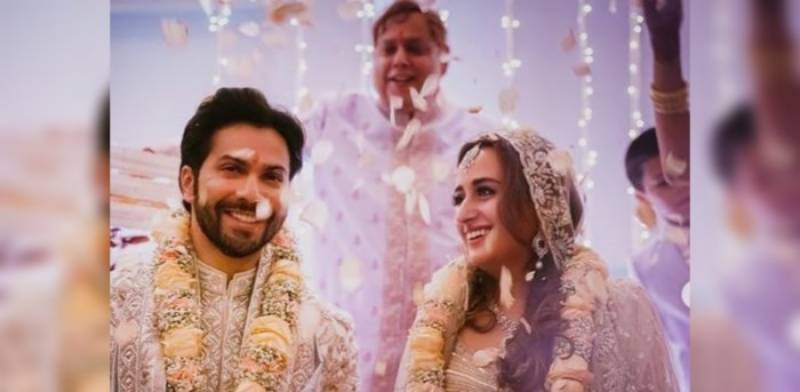 Bollywood pours in best wishes for Mrs. and Mr. Varun Dhawan