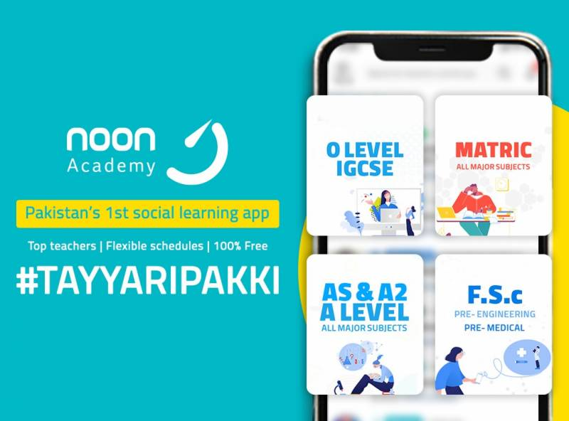Noon Academy – saving the future of Pakistan with social learning platform for education