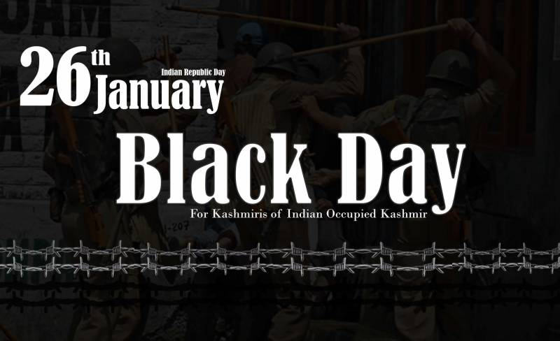 Black Day: Kashmiris observe Indian Republic Day with protests, rallies