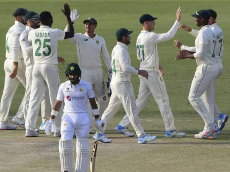 #PAKvSA – Pakistan lead by 88 runs at stumps on 2nd day of 1st test against South Africa