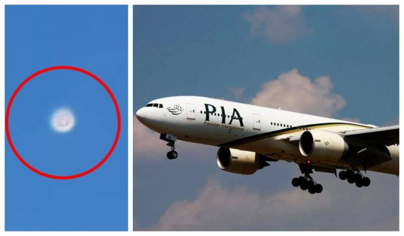 PIA pilots spot 'UFO' while flying over Karachi (VIDEO)