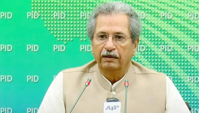 Shafqat Mehmood green-lights launch of Single National Curriculum from next academic year