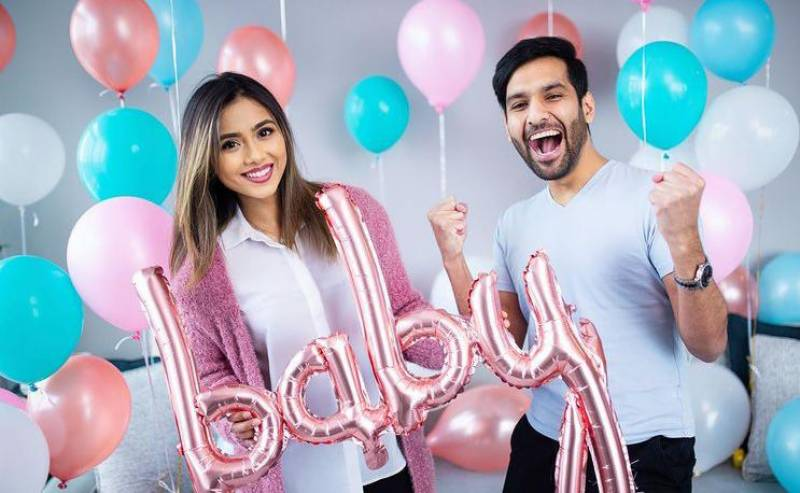 Zaid Ali and wife Yumna are expecting their first child