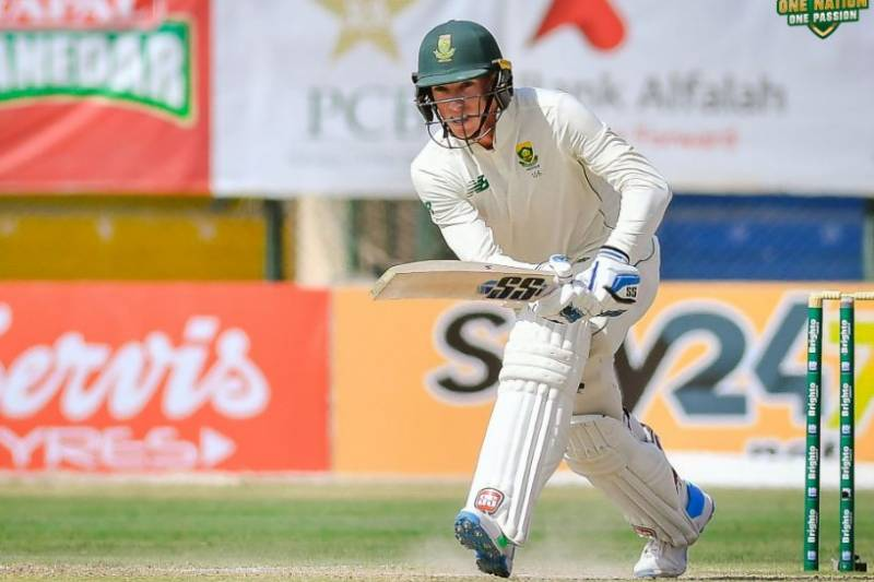 #PAKvSA – South Africa lead by 29 runs at stumps on 3rd day of 1st Test against Pakistan