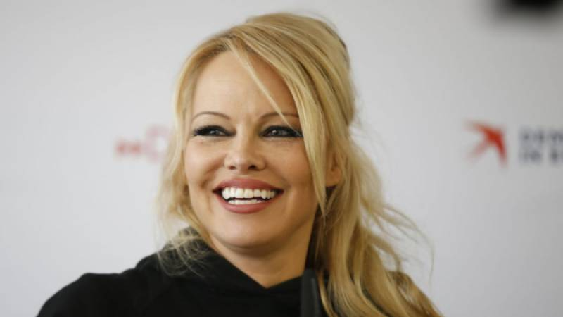 Pamela Anderson marries for the fifth time