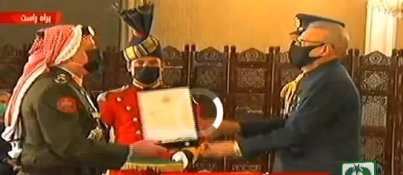 President confers Hilal-e-Imtiaz (M) on Jordanian military chief