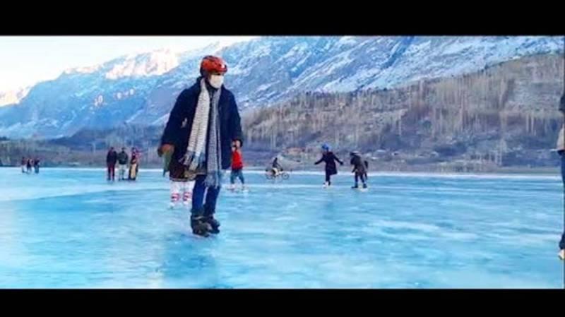 Three-day sports festival kicks off in Khalti Frozan Lake today