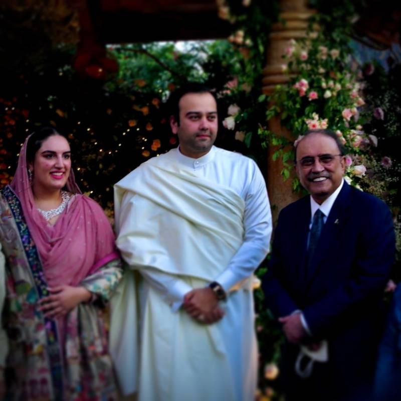 Bakhtawar Bhutto-Zardari and Mahmood Chaudhary tie the knot in Karachi