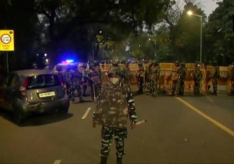 Blast near Israel embassy in Delhi, with no injuries