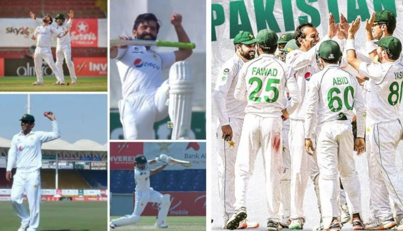 PAKvSA: Green Shirts beat Proteas by 7 wickets in first Test