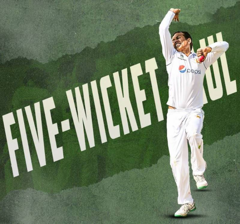 PAKvSA: Nauman Ali sets bowling record in Test debut for Pakistan