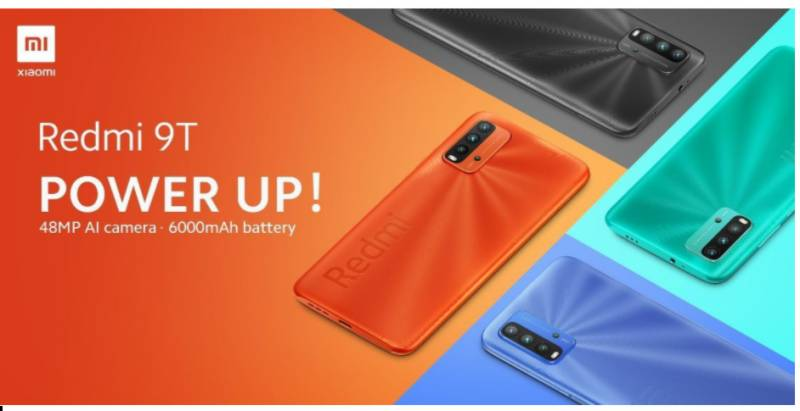 Xiaomi introduces Redmi 9T in Pakistan