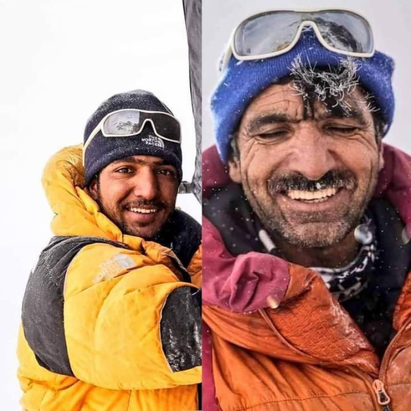 Ali Sadpara and his son become first Pakistanis to scale K2 in winters