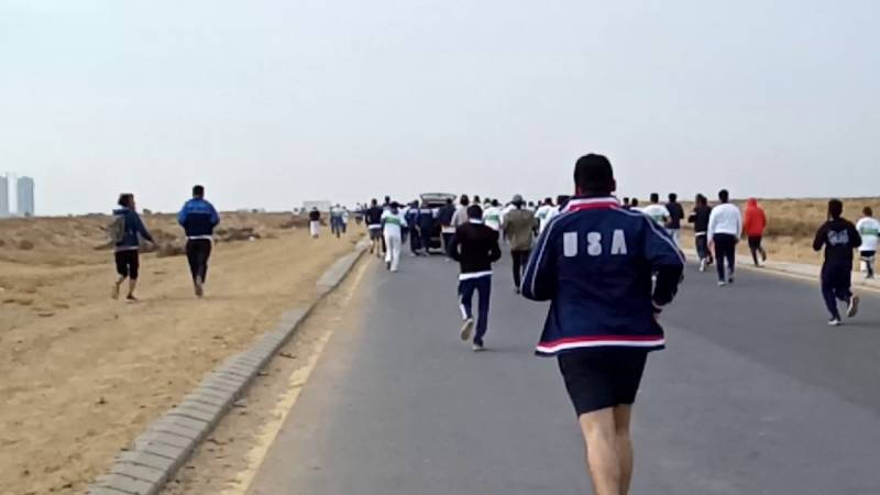 Karachi hosts first-ever international-standard marathon spanning 42kms