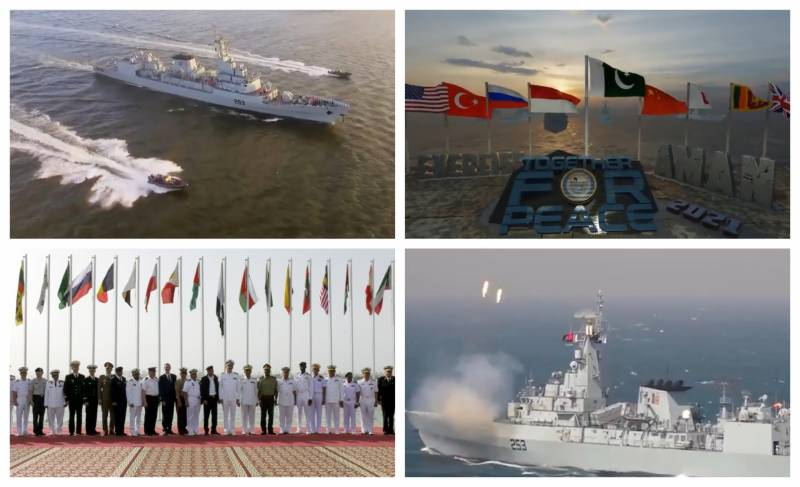 Pakistan Navy releases promo in connection with AMAN 2021 naval exercise