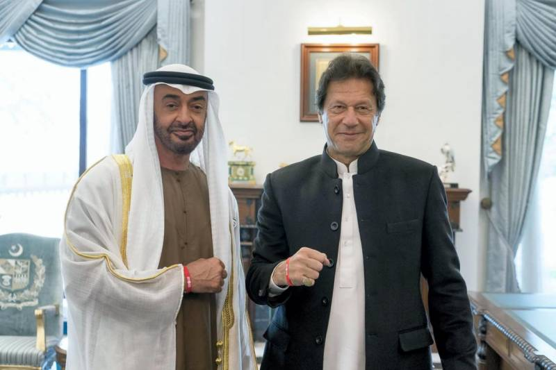 PM Imran, UAE's Mohamed bin Zayed resolve to further cement bilateral ties