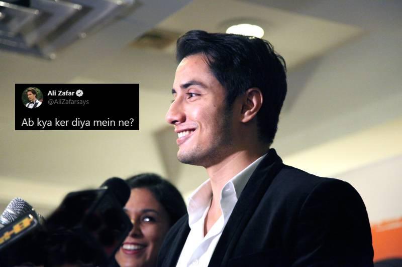 """""""Ab Kya Kar Diya Maine?"""" Ali Zafar asks fans after release of PSL 2021 anthem"""