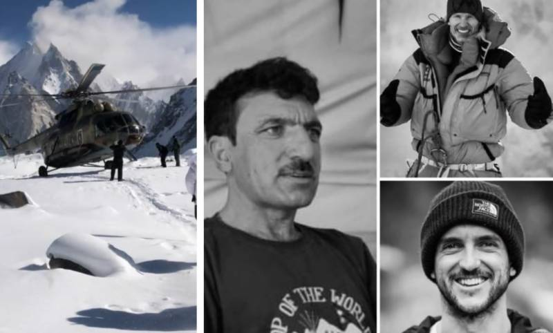 #K2WinterExpedition – Search operations fail to locate Ali Sadpara, other mountaineers