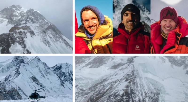 #K2WinterExpedition – Search operation for missing Ali Sadpara, team enters third day