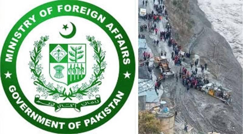 Pakistan expresses condolences over loss of lives in Uttarakhand's glacier-burst