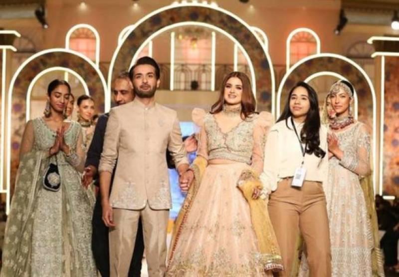 Hira Mani and Affan Waheed BTS video raises eyebrows