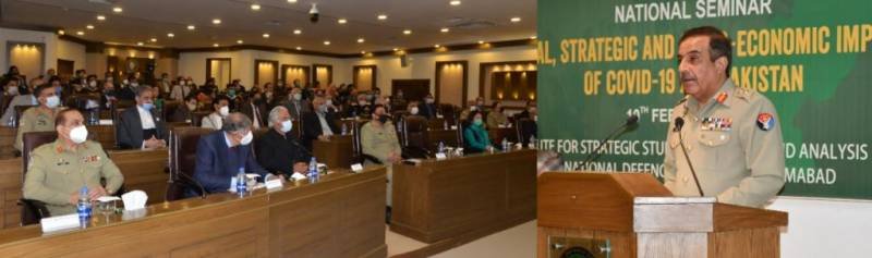 Pakistan's all relevant sectors contributed in COVID-19 fight, says CJCSC Gen Nadeem