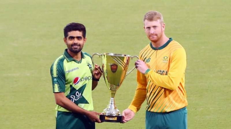 PAKvSA – Trophy for T20I series unveiled