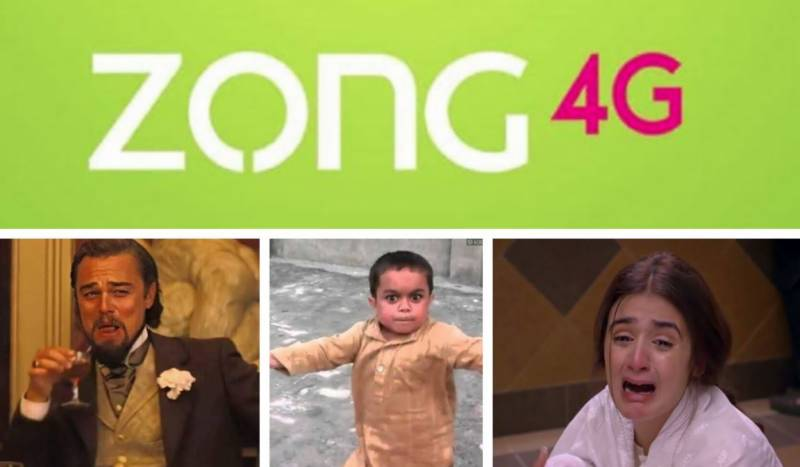 #Zong trends on Twitter as services remain disrupted amid free data usage