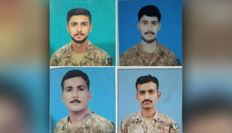 Four Pakistan Army soldiers martyred in South Waziristan: ISPR
