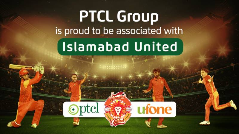 Ufone, PTCL partner with Islamabad United for PSL 6