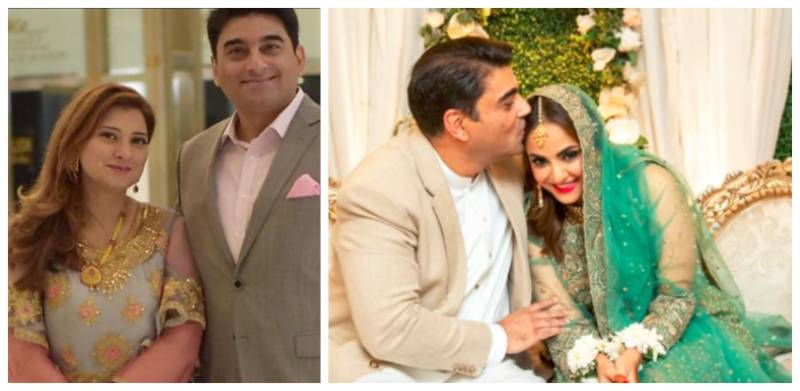 Nadia Khan's husband's ex-wife reveals details of her divorce (VIDEO)