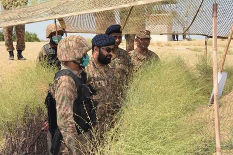 Jidar-ul-Hadeed – Karachi Corps take part in tactical drills in Thar (VIDEO)