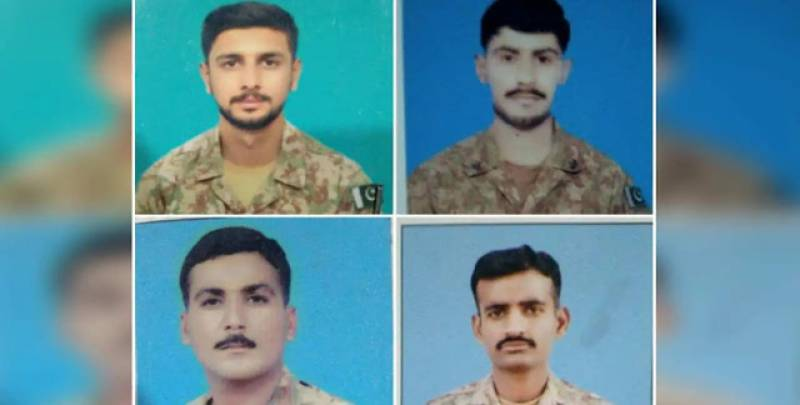 President, PM grieved over Pakistani soldiers embracing martyrdom in Waziristan terror attack