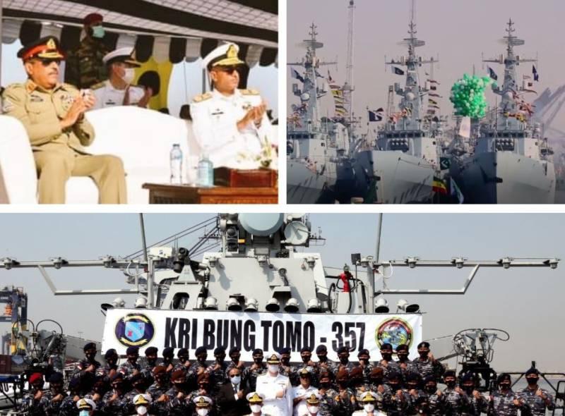 #AMAN2021: CJCSC witnesses maritime counter-terrorism demonstration