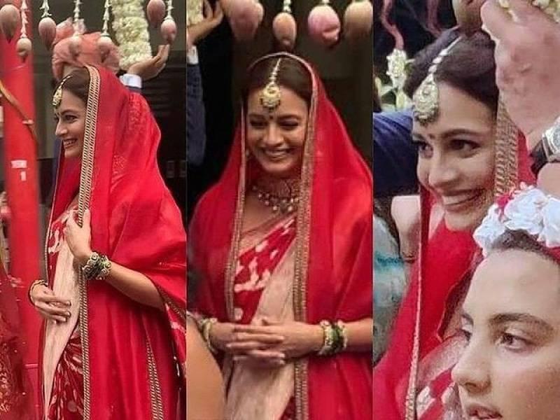 Dia Mirza marries businessman beau Vaibhav Rekhi in Mumbai