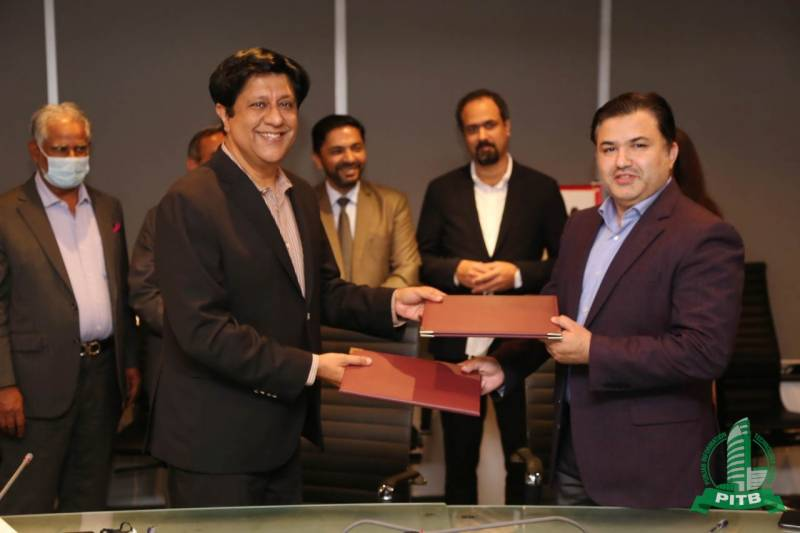 PITB - P@SHA sign MoU to promote Public-Private partnership by engaging local IT industry in Public Sector Digitalization