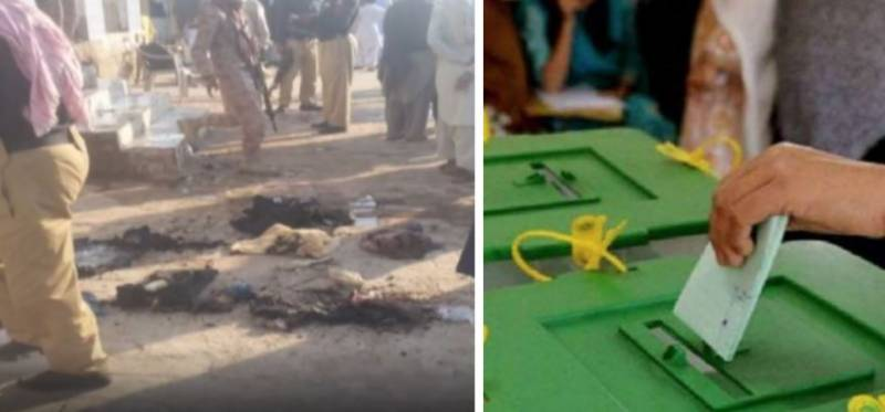 Three arrested as polling station set ablaze amid Tharparkar's NA-221 by-election