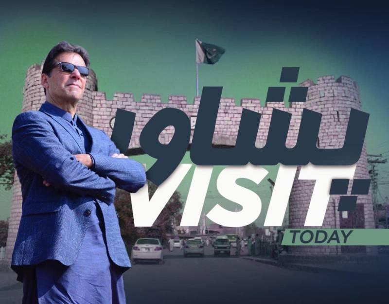 PM Imran arrives in Peshawar on day-long visit