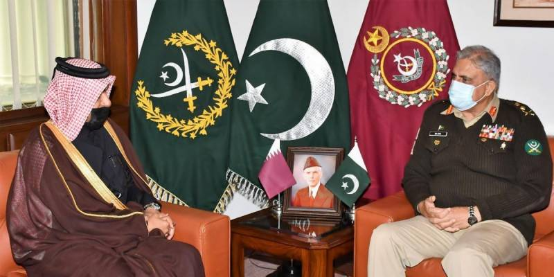 Qatar's special envoy meets COAS Bajwa, lauds Pakistan's role for regional stability