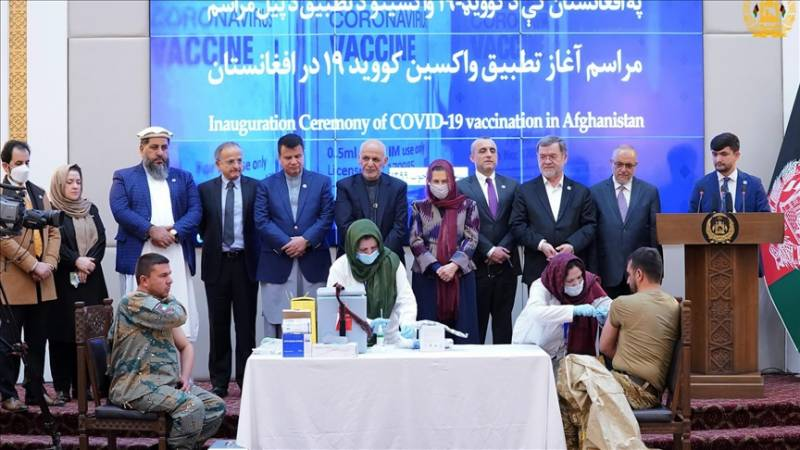 Afghanistan kicks off COVID-19 vaccination drive amid terror attacks