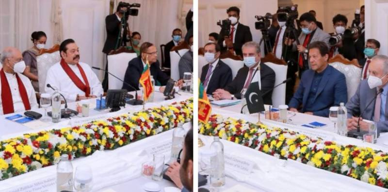 Pakistan, Sri Lanka vow to strengthen cooperation in diverse fields